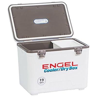 Engel Coolers 19 Quart Cooler/dry Box - White