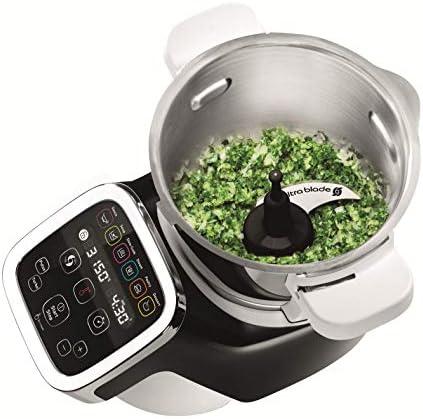 Moulinex Cuisine Companion HF806E10 Robot cocina 6 programas, 4.5 L hasta 6 personas, 12 velocidades y temperatura de 30º a 130º, función de mantenimiento de la calor 45 min: Amazon.es: Hogar