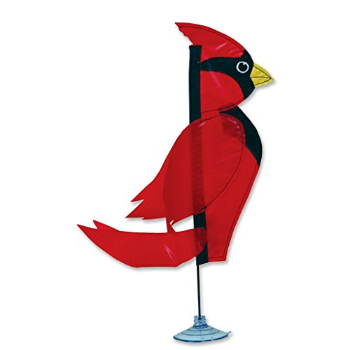 Premier Kites 21303 Decorative Zany Pal Flag, Carl Cardinal, 14-Inch (Carl Costume)