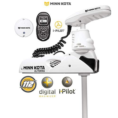 "Minn Kota Riptide Ulterra 112 (MK-1358965) Trolling Motor w/iPilot & Bluetooth 36V-112lb-60"""