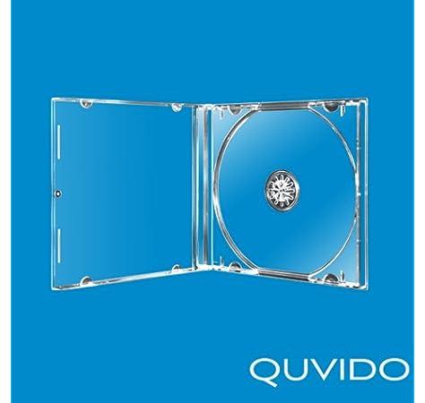 Four Square Media. Caja CD o DVD 10,4 mm, 25 unidades, con bandeja ...