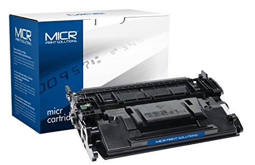 Recrated Cartridges HP CF287A(M) | Black OEM MICR Cartridge 9,000 Pages for MICR Toner Cartridge for HP LaserJet Enterprise M506X, LaserJet Enterprise