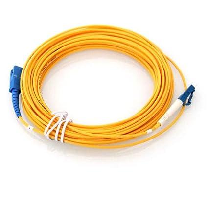 SM Simplex LC to LC Fiber Patch Cord Jumper Cable 9//125,3M//5M//10M//15M//20M
