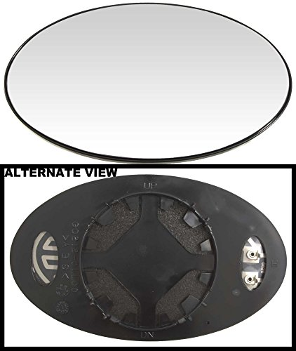 - APDTY 67823 Side View Mirror Replacement Glass Fits Left (Driver-Side) 2002-2006 Mini Cooper / 2007-2008 Mini Cooper Convertible Models With Heat (Replaces OEM 51167058063)