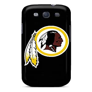 JoanneOickle Samsung Galaxy S3 Shock-Absorbing Hard Cell-phone Cases Support Personal Customs Fashion Washington Redskins Image [wUl6687Ylvm]