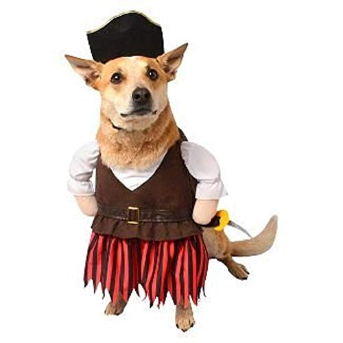 Hyde & Eek Boutique Pet Pirate Halloween Costume Small]()