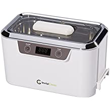 InvisiClean Professional Ultrasonic Cleaner Machine for Jewelry, Diamonds, Eyeglasses, Sunglasses, Dentures, and Rings – Pro Elite Model IC-2755