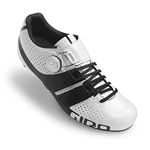 ゆるくイデオロギー獲物GIRO(ジロ) FACTRESS Techlace Woman Road Cycling Shoes - White/Black (37 EUR [23.5cm]) [並行輸入品]