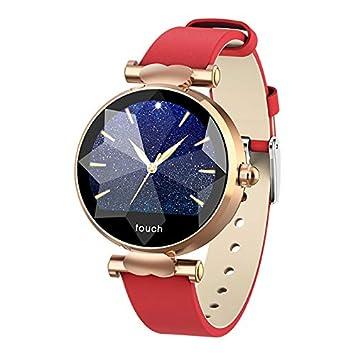 MROSW Inteligente Mujeres del Reloj Smartwatch Diamante De ...