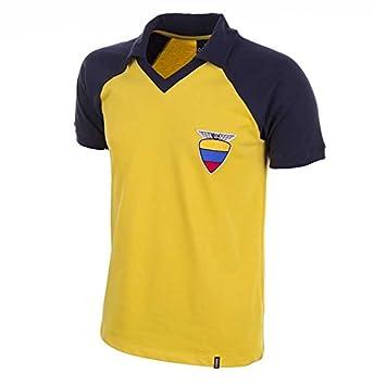 COPA Football - Camiseta Retro Ecuador años 1980 (S)