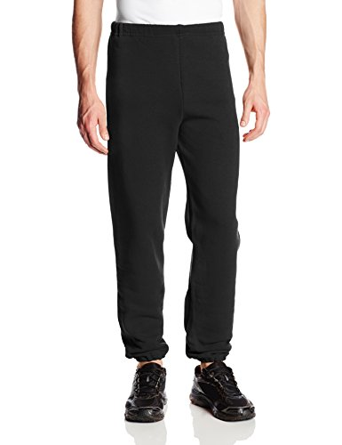 Dri-Power Closed Bottom Fleece Pant - Black - X-Large
