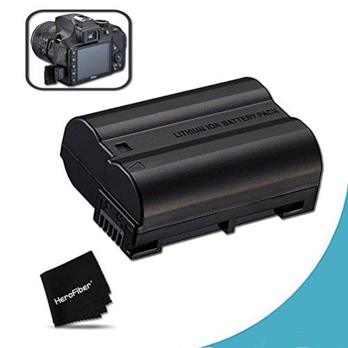 High Capacity Replacement Nikon EN-EL15 Battery for Nikon D750, D7200, D7000, D7100, D800, D800E, D600, D610, 1V DSLR Cameras