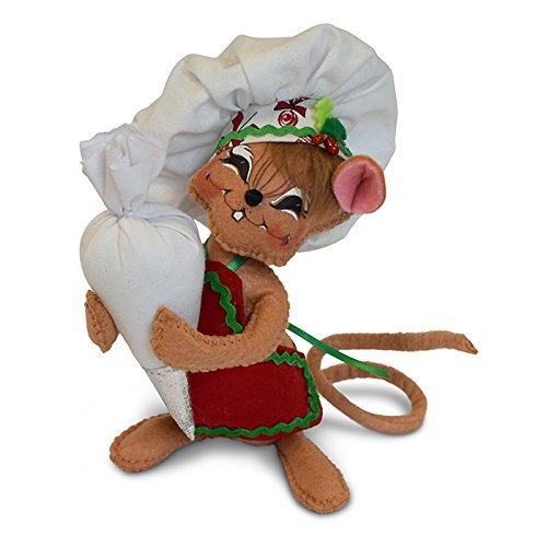 Christmas Annalee Candy (Annalee 6in Chef Mouse)