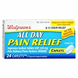 Walgreens All Day Pain Relief Caplets, 24 ea