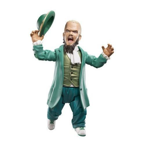 WWE HORNSWOGGLE 2009 OFF THE ROPES SERIES 13 w/ BOLER HAT AND CANE / TOY WRESTLING FIGURE -