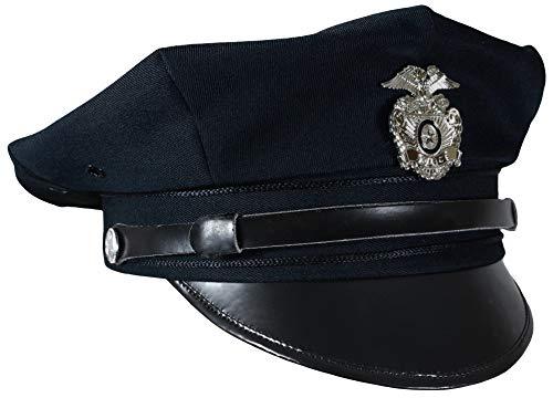 Miltec US Police 8 Point Visor Cap - Dark Blue (X-Large) -