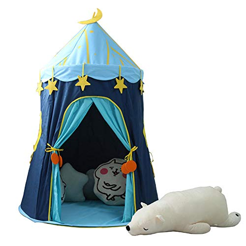 Sport 110 150cm Children's Outdoor Entertainment Yur Pet Mat Blue House Yurts Moon Tent Game Room by Shop Sport (Image #8)