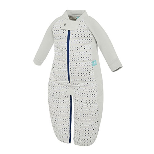 ergopouch 3.5 Tog Sleep Suit Bag, Blue Dot, 12-36 months