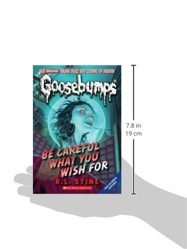 Be careful what you wish for classic goosebumps 7 rl stine be careful what you wish for classic goosebumps 7 rl stine 9780545035248 amazon books fandeluxe Gallery