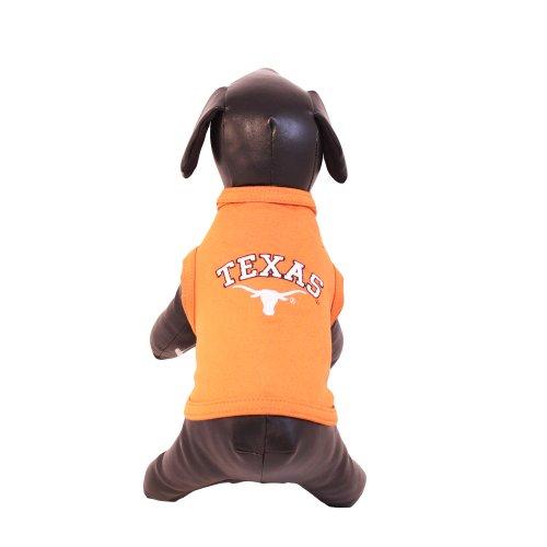 NCAA Texas Longhorns Cotton Lycra Dog Tank Top, X-Large