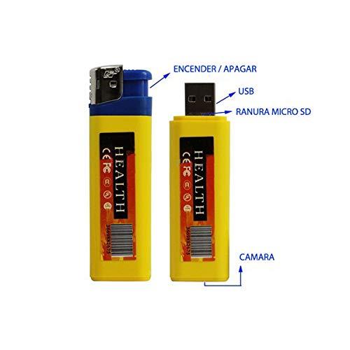 Electrolandia® Mechero Camara Espia HD: Amazon.es: Bricolaje y herramientas