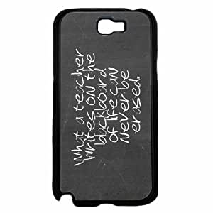 #1 Teacher Hard PC SILICONE Phone Back For SamSung Note 3 Case Cover