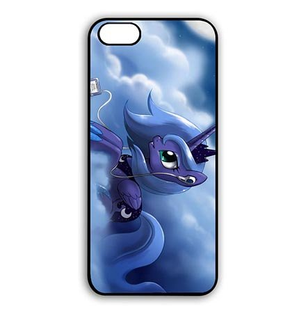 My Little Pony Modern Black Snap On Cases for iPhone 6 PLUS - iPhone 6S PLUS(5.5 Inch Screen)