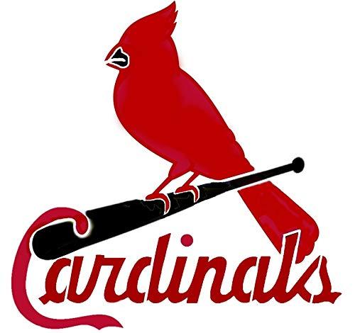 St Louis Cardinals Baseball Logo Stencil Mylar Sport Stencils