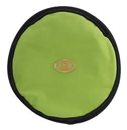 OllyDog The Olly Flyer Throw Disc Frisbee, Lime
