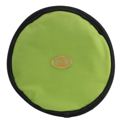 OllyDog The Olly Flyer Throw Disc Frisbee, Lime (Disks Flyer)