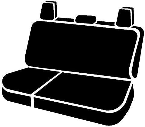 Split Cushion 60//40 Saddle Blanket, Black FIA TR42-68 Black Custom Fit Rear Seat Cover