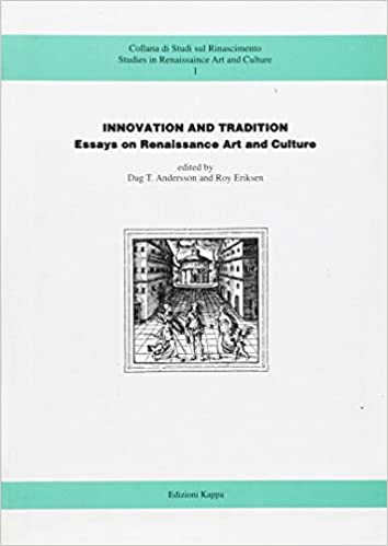 Persuasive Essay Samples For High School Innovation And Tradition Essays On Renaissance Art And Culture   Amazoncom Books Simple Essays For High School Students also Where Is A Thesis Statement In An Essay Innovation And Tradition Essays On Renaissance Art And Culture  Federalism Essay Paper