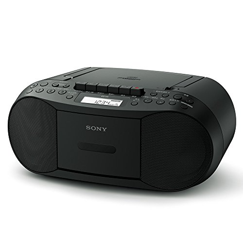 (Sony CD Cassette Radio CFD-S70 B)