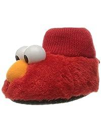 Sesame Street Unisex-Baby ELMO Puppet Slipper Slipper