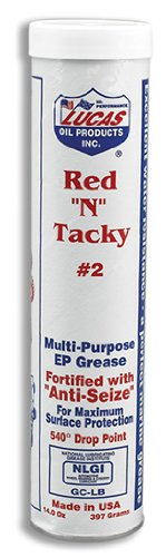 Lucas 10005-30PK Red N' Tacky Grease, (Pack of 30)