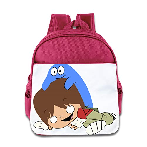 Silence Foster's Home For Imaginary Friends Children Schoolbag Backpack One Size -