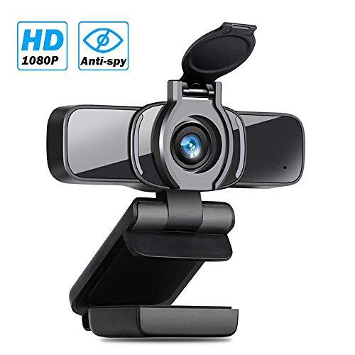 🥇 LarmTek Webcam HD 1080p con Obturador De Privacidad