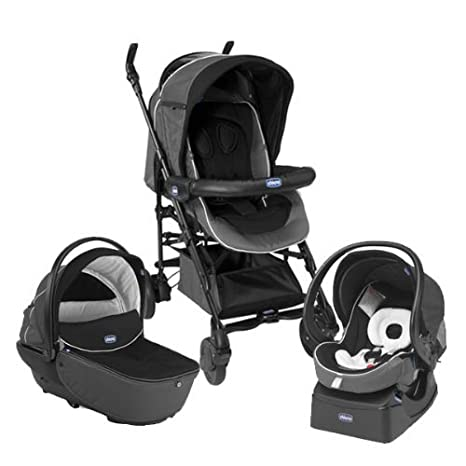 Chicco Trio Living Smart - Silla de paseo, color negro ...