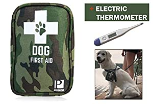7. Dog First Aid Kit with Thermometer