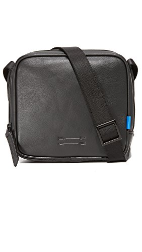 Uri Minkoff Men's Soft Nappa Bryant Cross Body Pack, Black, One Size by Uri Minkoff