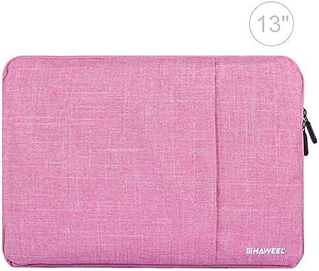Caja portadocumentos con Cierre de Cremallera de 13 Pulgadas para portátiles, MacBook, Samsung, Lenovo, Sony, Alienware DELL, Chuwi, ASUS, para portátil de 13 Pulgadas & Menos Rosa: Amazon.es: Electrónica