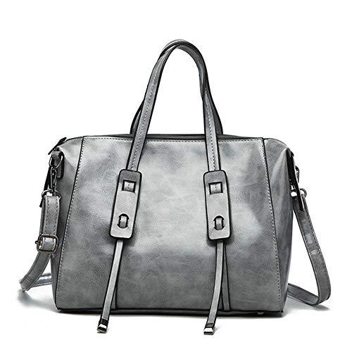 c4975ac97 Bag Elegantes Moda Y Carteras Tote Diseñador Hombro Mujer Bolsos Para  DiseñocolorRedGray De Wof Satchel Señoras w0vNnm8
