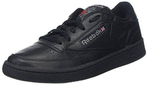 Reebok Club Herren 85 C Sneaker Archive Schwarz (noir / Carbone Rouge Excellente)