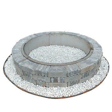 Cheap Fire Pit Ring Stainless Steel Liner With Top Rim