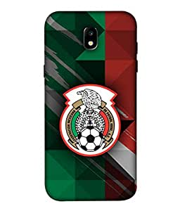 ColorKing Football Mexico 12 Multi Color shell case cover for Samsung J5 Pro 2017