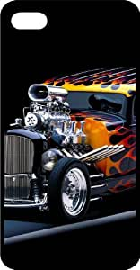 Flaming Hot Rod Tinted Rubber Case for Apple iPhone 4 or iPhone 4s