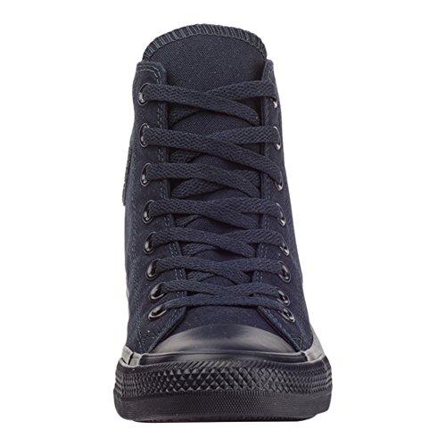 Converse - Zapatillas de Lona para mujer Azul Twilight Black Dunkelblau Navy