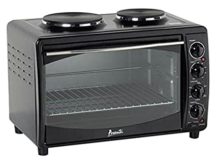 Avanti MKB42B Full Range Temperature Control, Multi Function Counter Top  Convection Oven With Duel