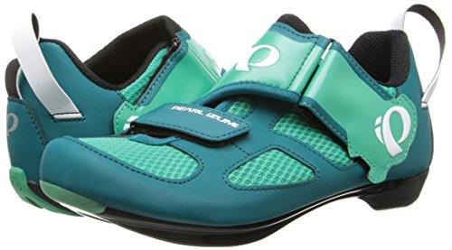 Pearl Izumi Womens Tri Fly V Road Bike Cycling Clipless Cycle Shoe Deep Lake/Gumdrop vSX0nPfEo