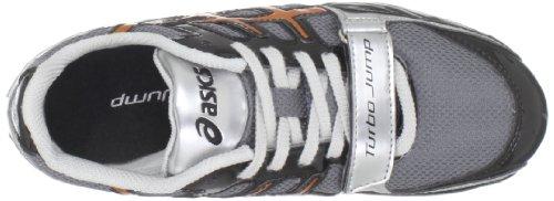 Asics Mens Turbo Hoppe Friidrett Skoen Storm / Kobber / Svart